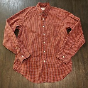 J. Crew Tailored Woven Button Front Shirt